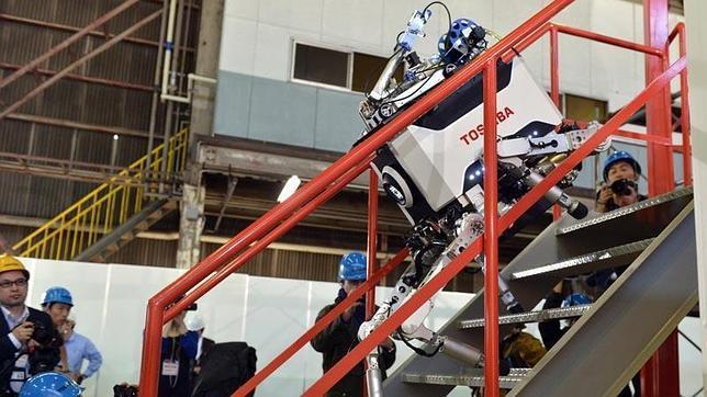 Un robot para adentrarse a los peligros de la central de Fukushima